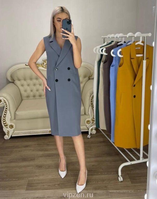 Платье-пиджак - идеальный вариант
