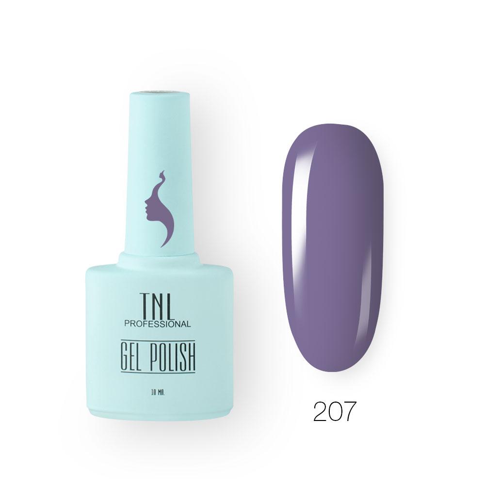 Гель-лак TNL 8 Чувств №207 - сине-лавандовый (10 мл.)