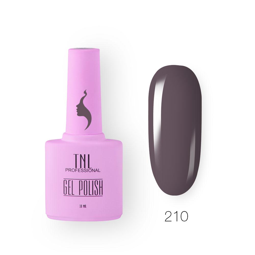 Гель-лак TNL 8 Чувств №210 - пурпурный мармелад (10 мл.)