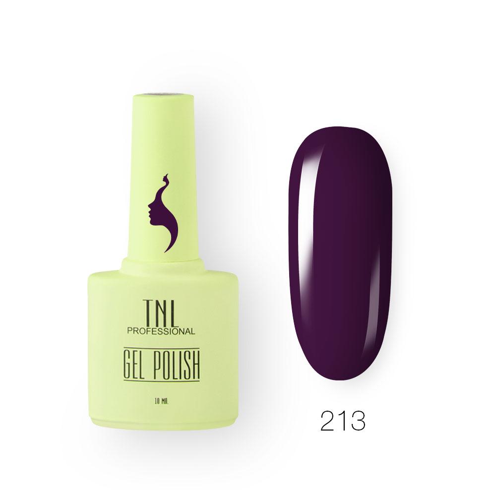 Гель-лак TNL 8 Чувств №213 - игристый виноград (10 мл.)