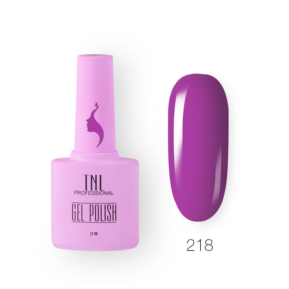Гель-лак TNL 8 Чувств №218 - лиловый горизонт (10 мл.)
