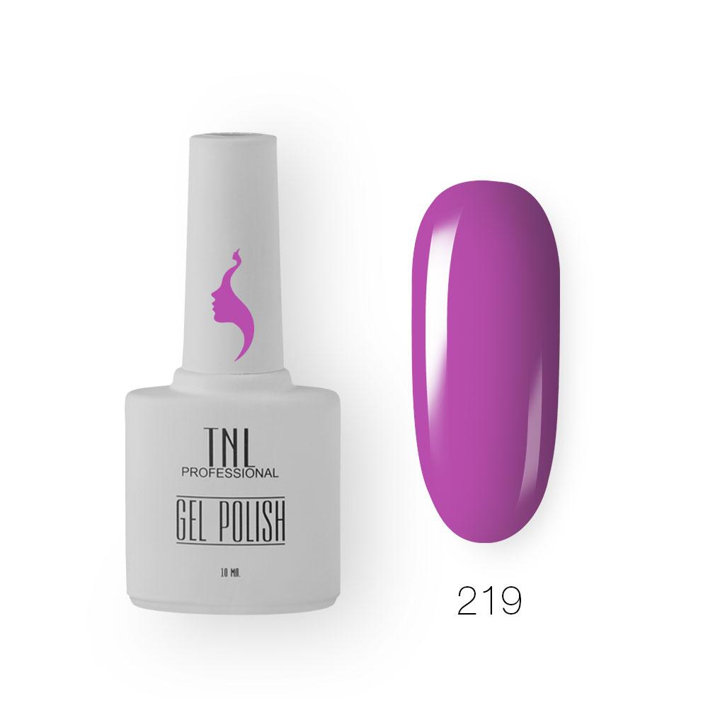 Гель-лак TNL 8 Чувств №219 - пурпурная орхидея (10 мл.)