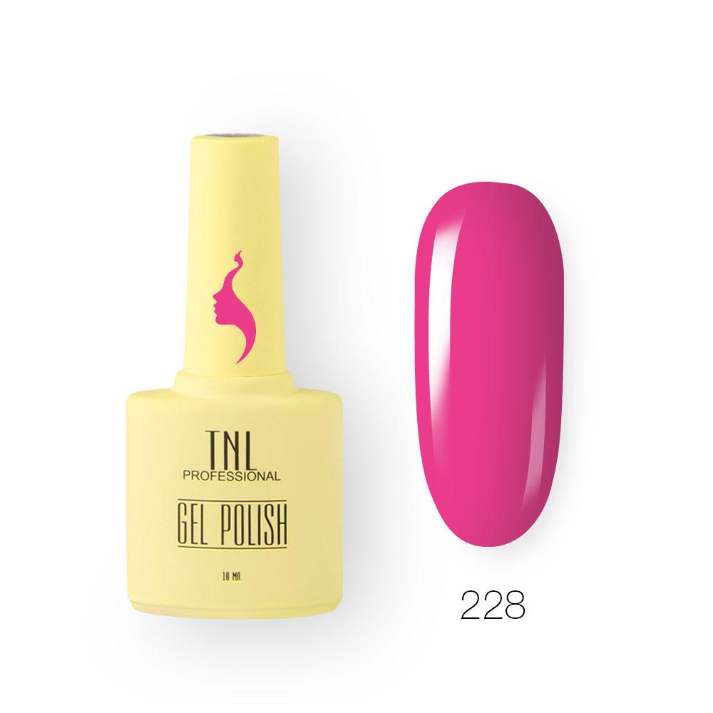 Гель-лак TNL 8 Чувств №228 - ягодное парфе (10 мл.)