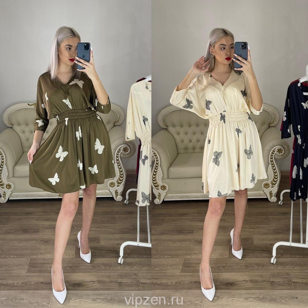 Очаровательные платья с бабочкой
