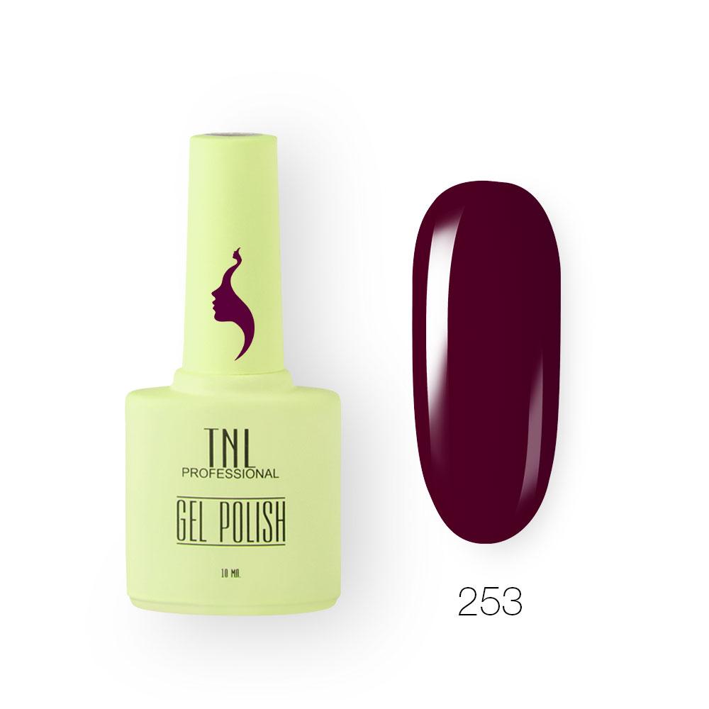 Гель-лак TNL 8 Чувств №253 - ежевичное вино (10 мл.)