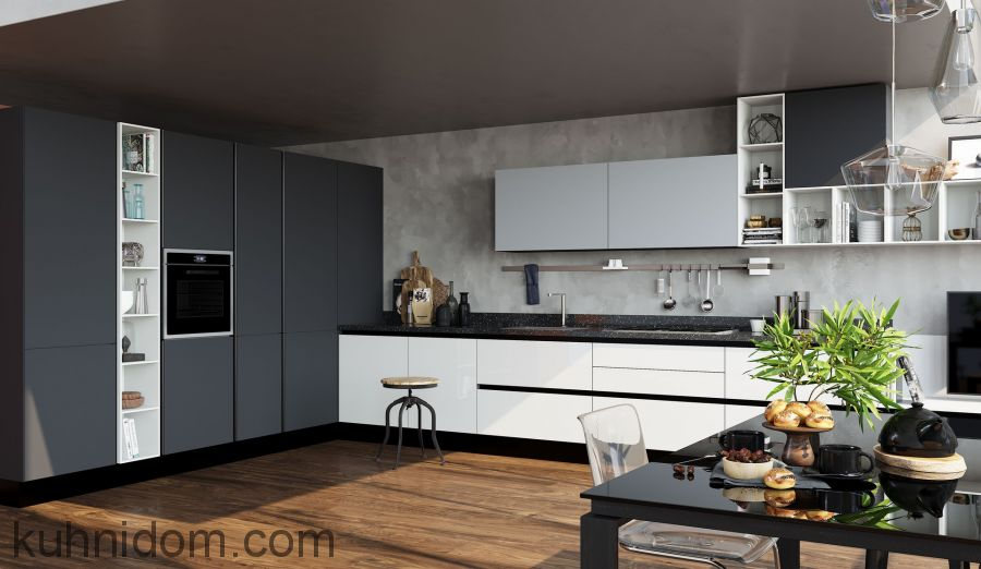 Кухня Kristali (Кристали) с колонками