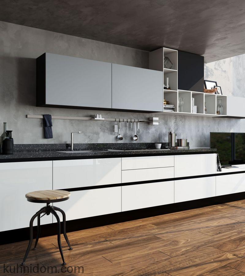 Кухня Kristali (Кристали) прямая