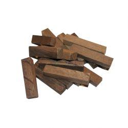 Кубики из дерева шелковицы, Россия (средний обжиг), 50 гр, на 10-50 л