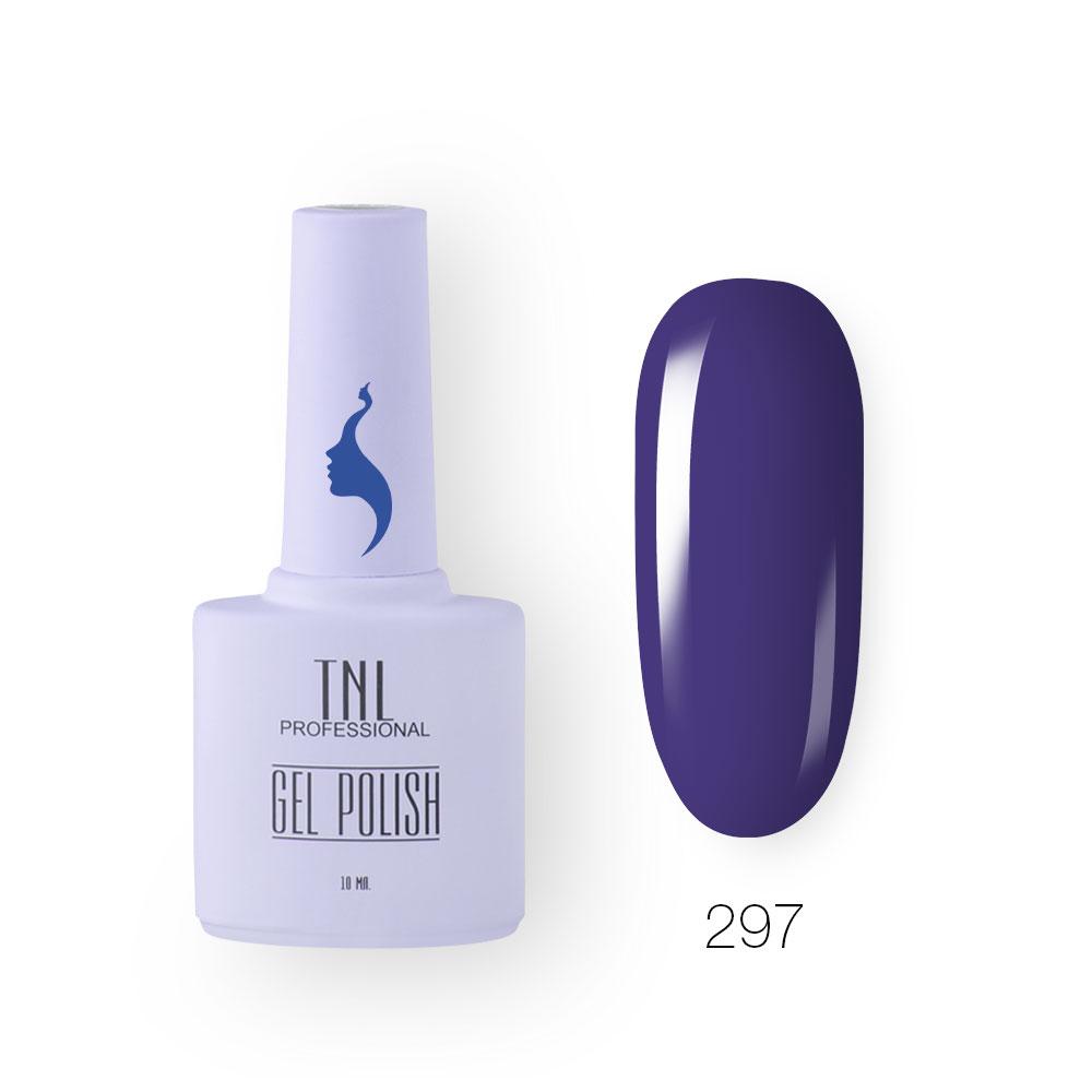 Гель-лак TNL 8 Чувств №297 - голубой мираж (10 мл.)