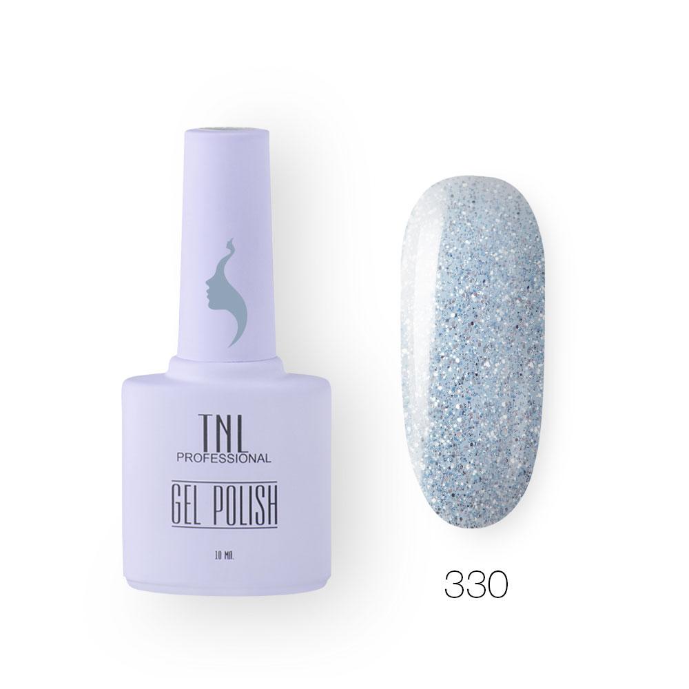 Гель-лак TNL 8 Чувств №330 - королева льда (10 мл.)