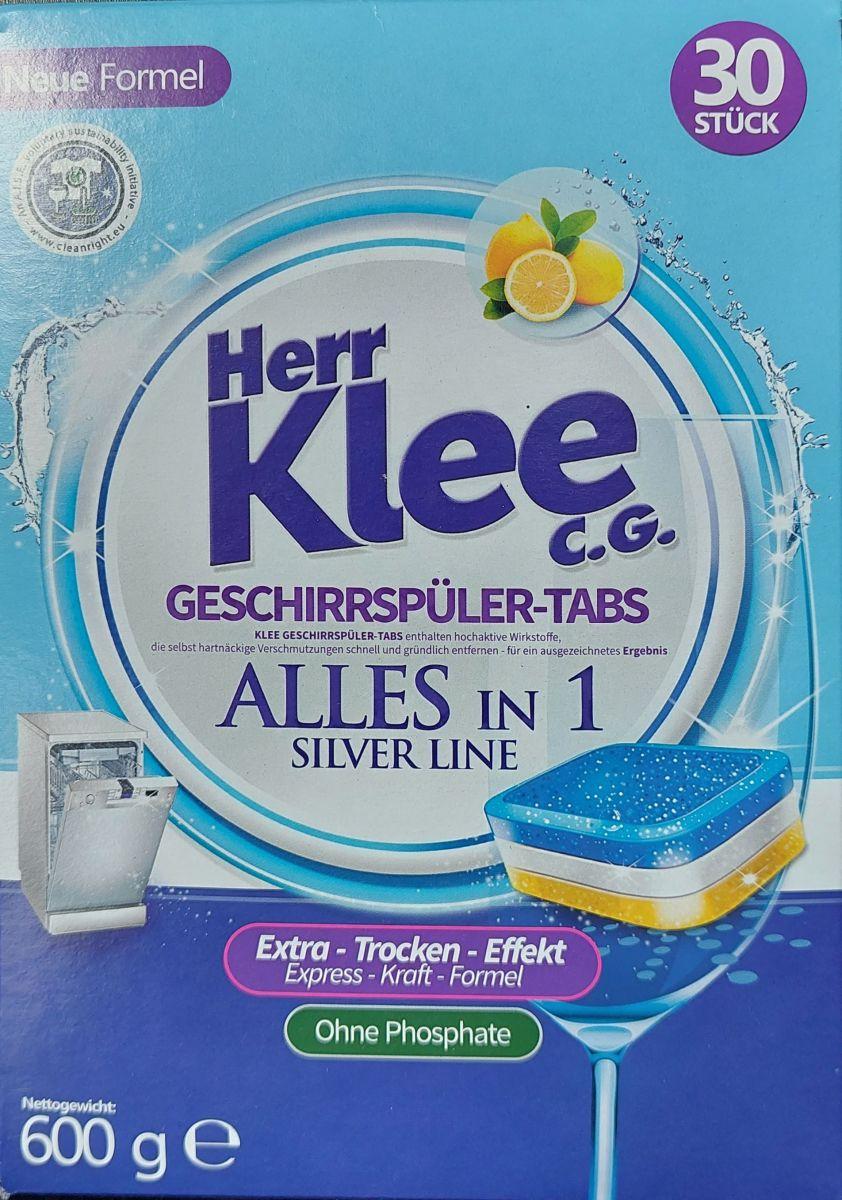 Таблетки для п/м Herr Klee AllInOne 30шт