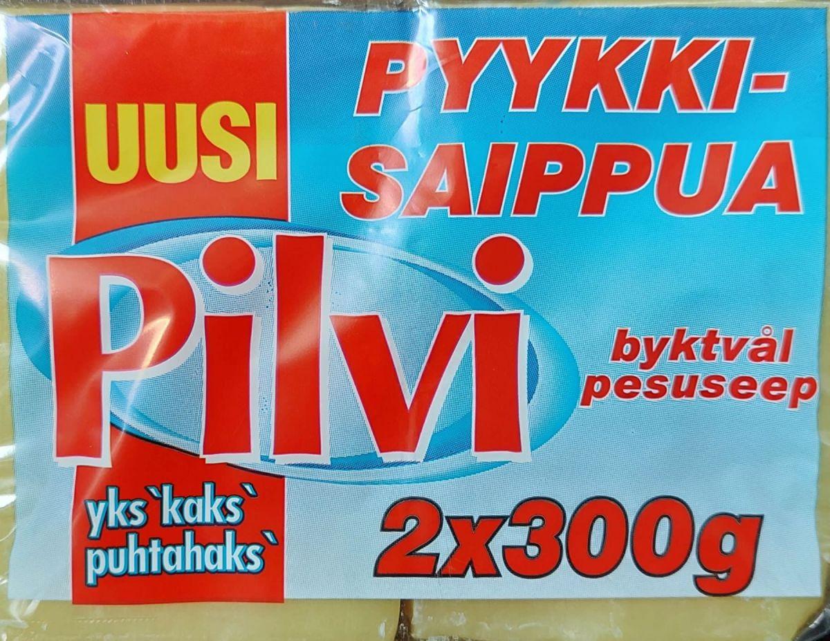 Хозяйственное мыло Pilvi 2*300г