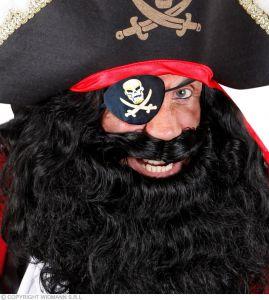 Повязка пирата с золотом