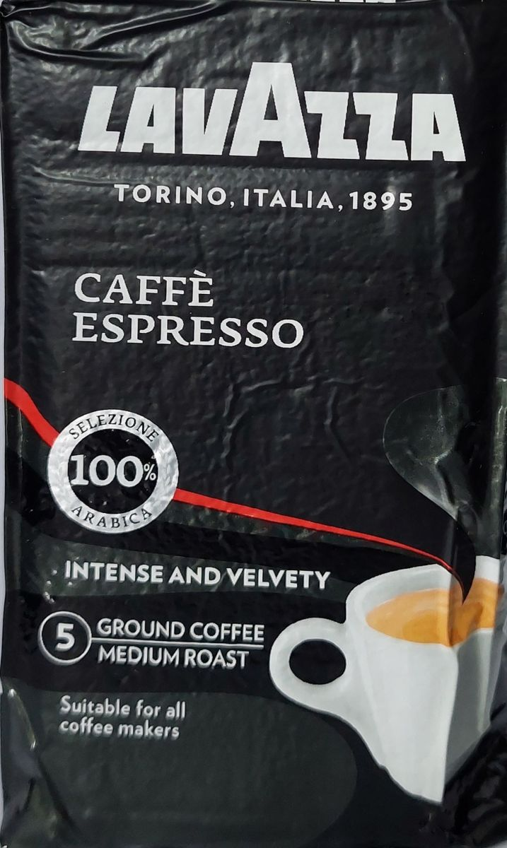 Кофе молотый Lavazza Espresso (5) 250г