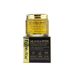 776189 FarmStay Ампульный крем с золотом и пептидами 24K Gold & Peptide Perfect Ampoule Cream