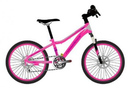 """Велосипед 20"""" AVENGER C200DW розовый неон/белый"""
