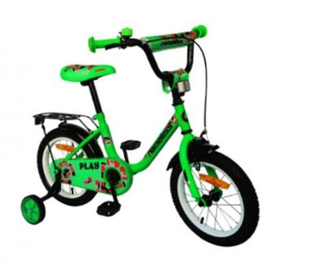 """Велосипед Nameless 20"""" PLAY,зеленыйчерный"""