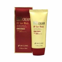 286457 3W CLINIC Солнцезащитный ВВ крем UV Sun Block BB Cream SPF50+/PA+++