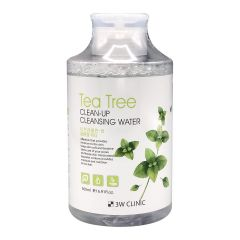 711040 3W CLINIC Очищающая вода для снятия макияжа Tea Tree Clean-Up Cleansing Water