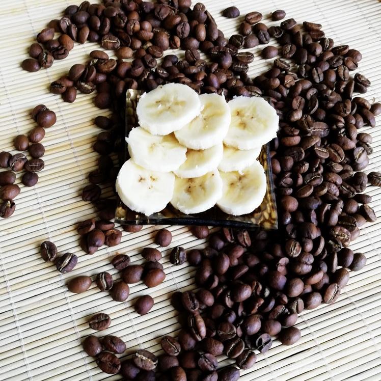 Банановый рай - десертный кофе в зернах