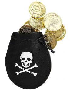 Кошелек Пирата с 12 монетами