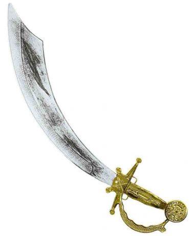 Сабля Пирата с золотой ручкой