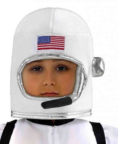 Шлем Астронавта белый детский