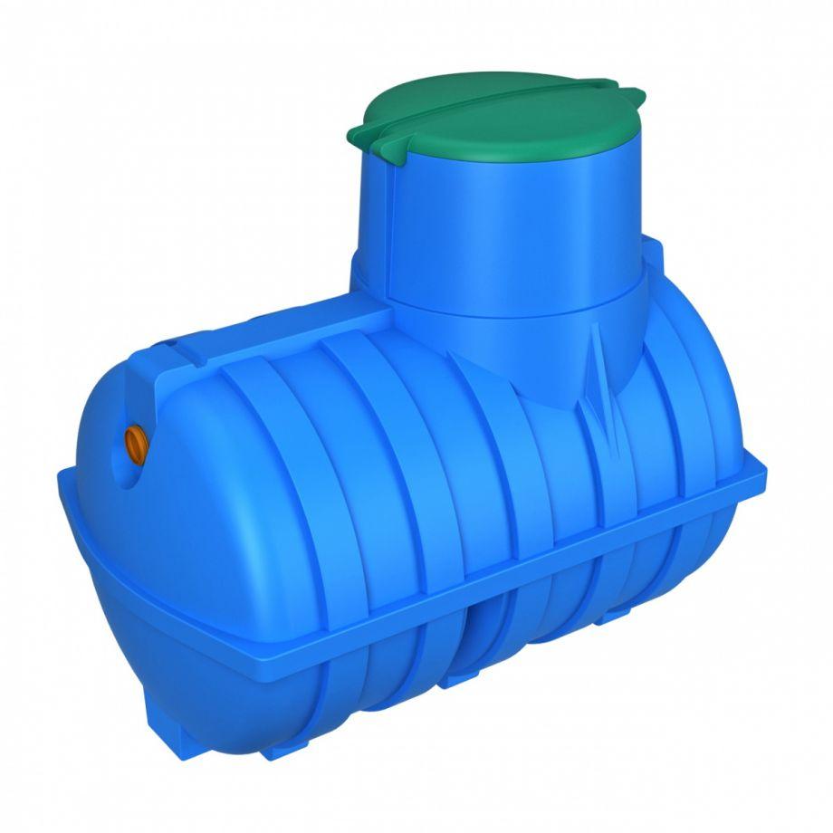 Подземная емкость 3000 литров Rostok синяя для питьевой воды