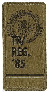 фото Термо-аппликация HKM REG.85 38 мм х 76 мм  Германия 36918