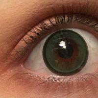 Линзы Natural (тип-3) зелёные