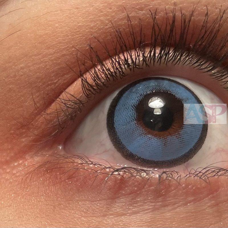 Линзы Natural (тип-3) голубые