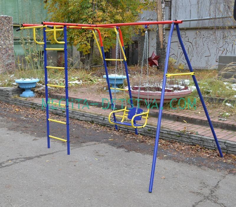 """Уличный спортивный комплекс для дачи """"Пионер-Шалун"""""""