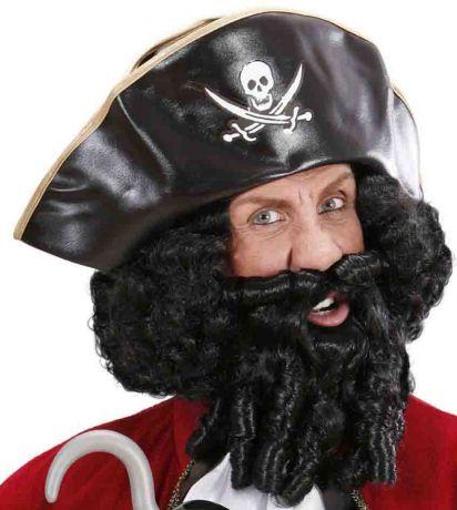 Парик Пирата вьющийся