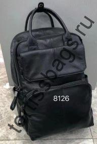 8126 Рюкзак из натуральной кожи