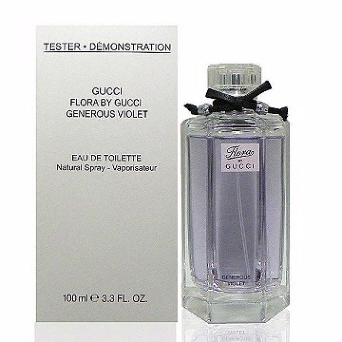 Тестер Flora By Gucci Gorgeous Violet 100 мл (Sale)
