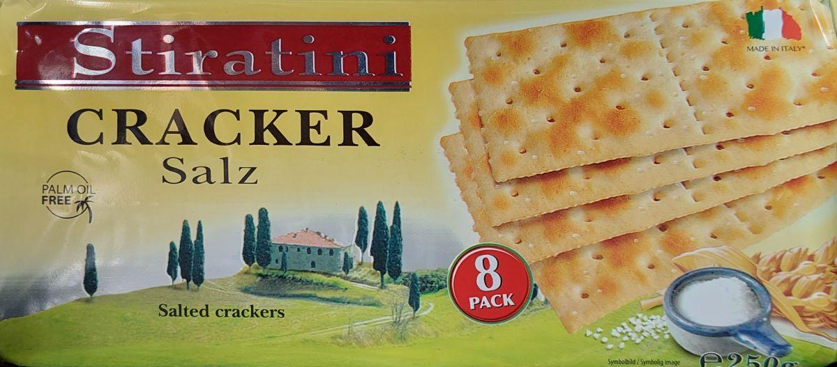 Крекеры Stiratini (с солью) 250г