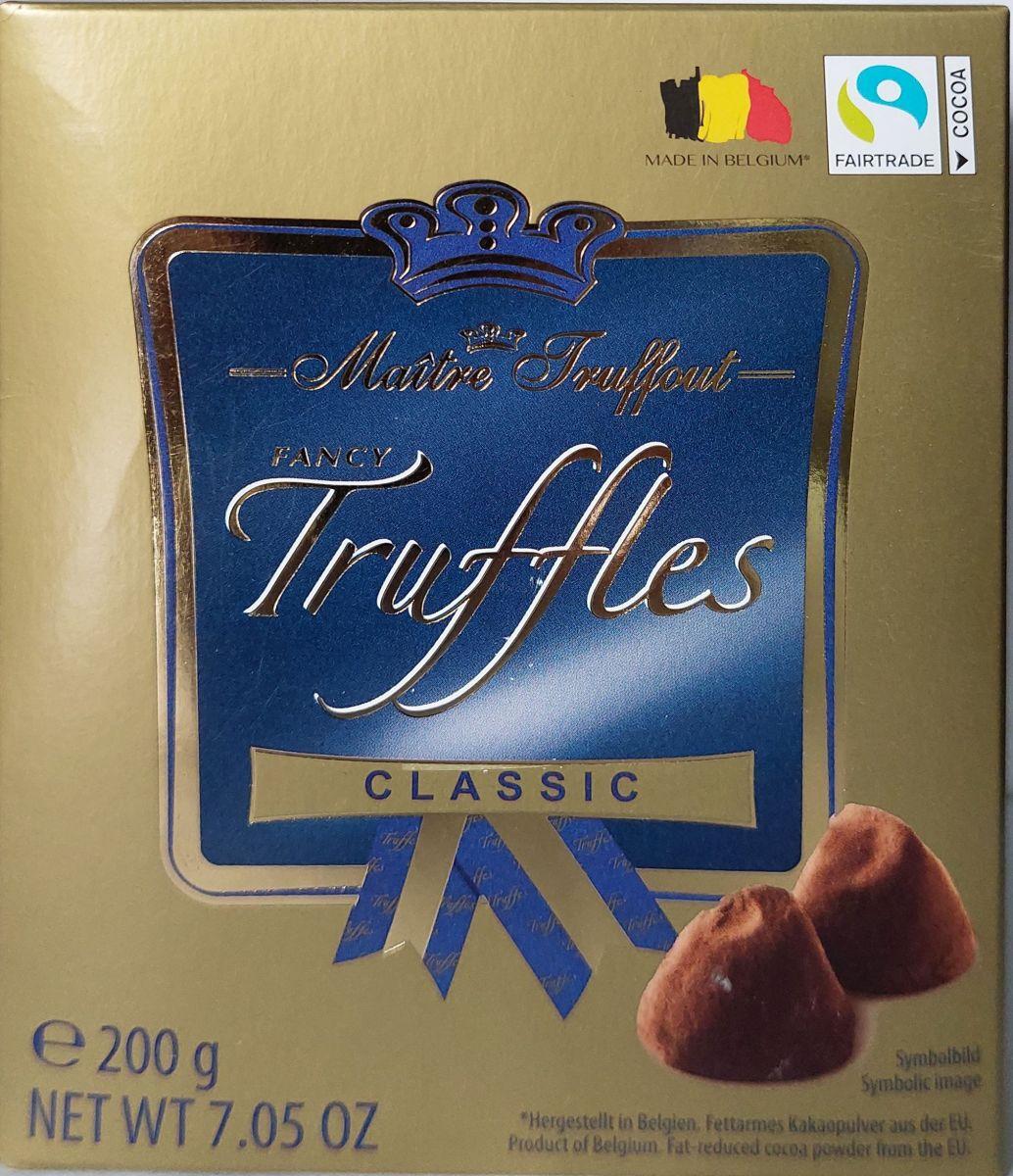 Трюфели Maitre Truffout (классические) 200г