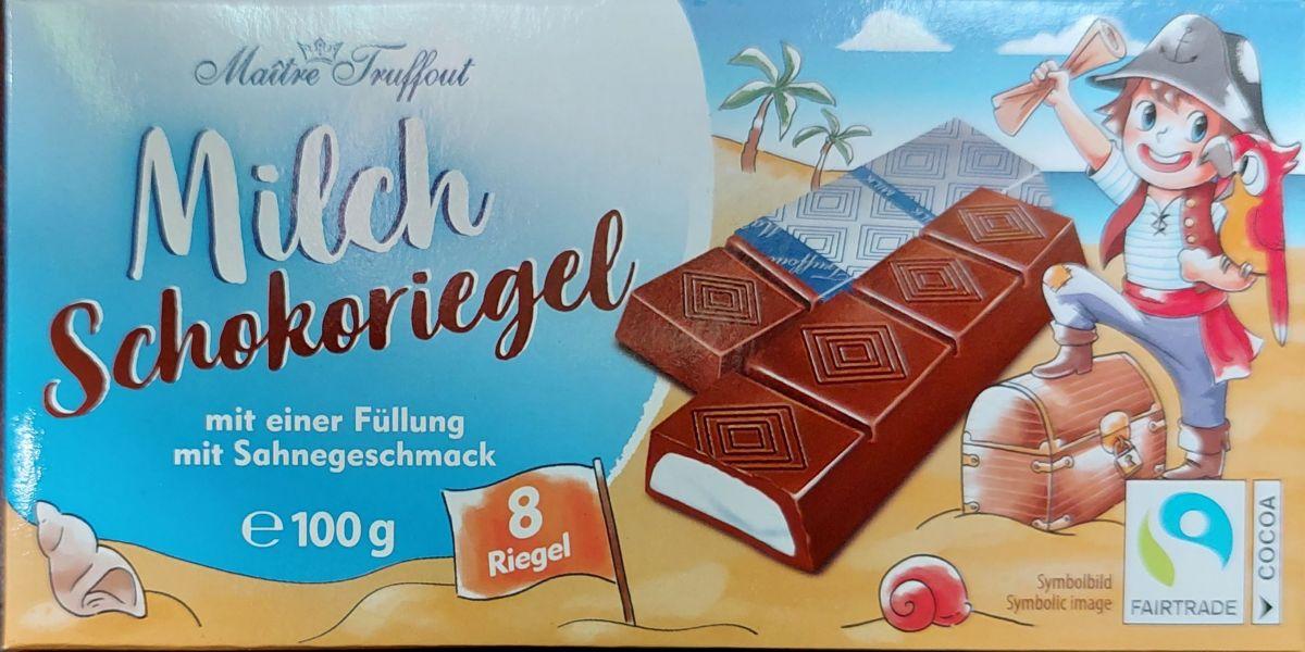 Шоколад Maitre Truffout Молочный шоколад Детский 100г
