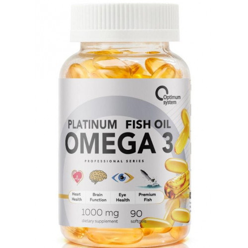 Optimum System Platinum Omega 3. 90 caps