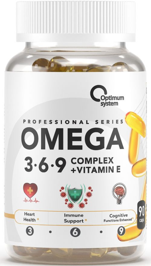 Optimum System Omega 3-6-9 Complex 90 softgels
