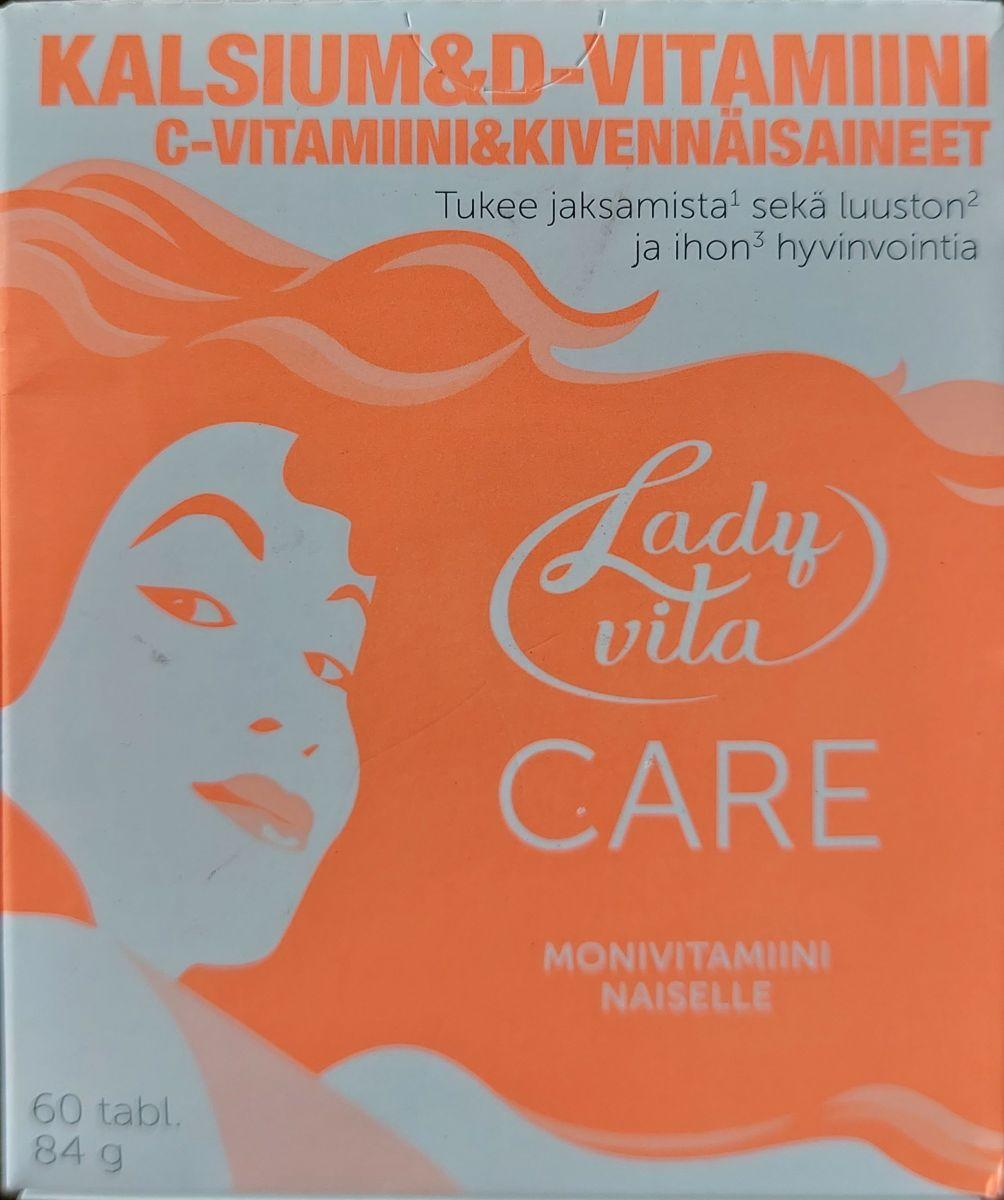 Витамины Ladyvita Care 60таб
