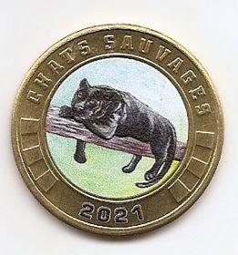 Пантера 3 франка Остров Тромлен  2021