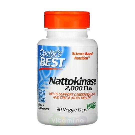 Doctor's Best Наттокиназа 2000 FU, 90 капсул