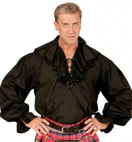 Рубашка Пират черная ( L )