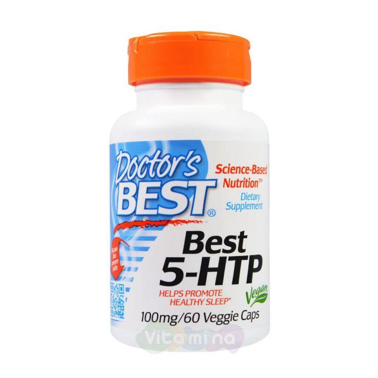 Doctor's Best 5-гидрокситриптофан (5-НТР), 100 мг, 60 капсул