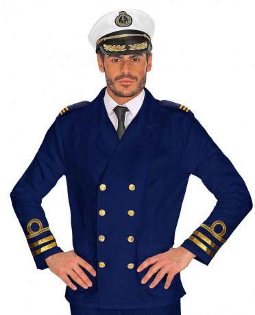 Пиджак Капитана синий