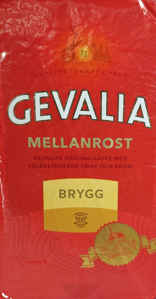 Кофе молотый Gevalia Mellanrost Brugg (3) 450г