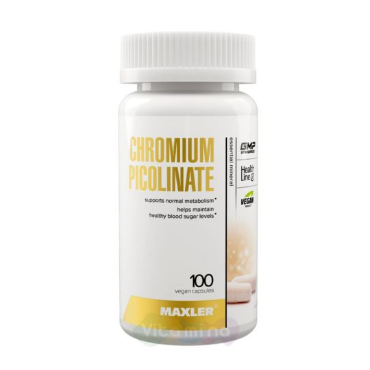 Maxler Пиколинат Хрома Chromium Picolinate, 100 капсул