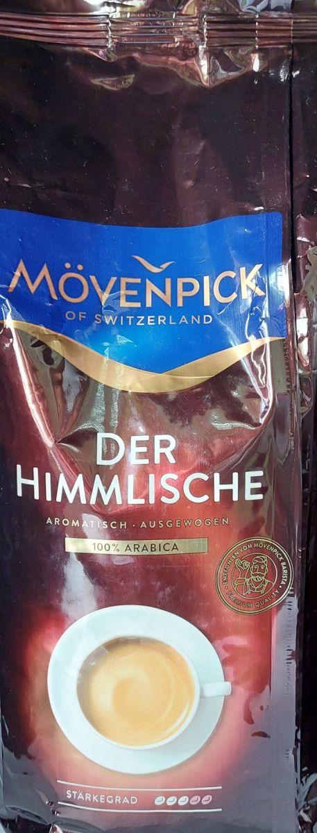 Кофе в зернах Movenpick Der Himmlische (3) 1кг