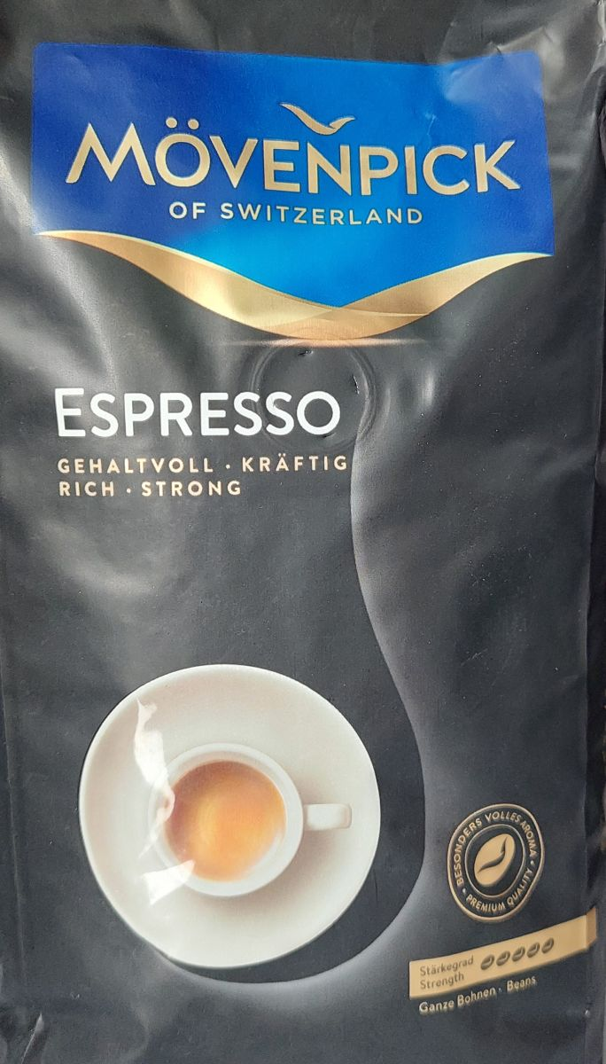 Кофе в зернах Movenpick Espresso (5) 500г